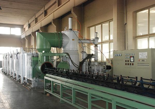 15 m vacuum annealing furnace